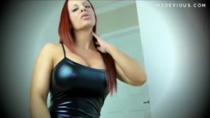Mz Devious - Shiny Spandex Catsuit - My Ass Owns you