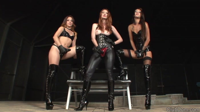 Kendra, Esmi and Alexa - Strap On Godesses