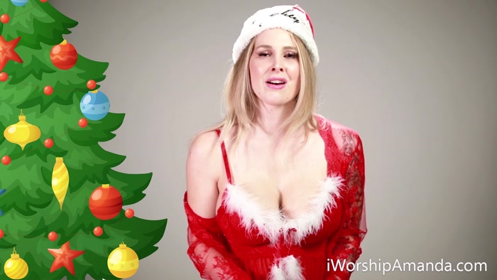 Goddess Amanda - Christmas CumSlut