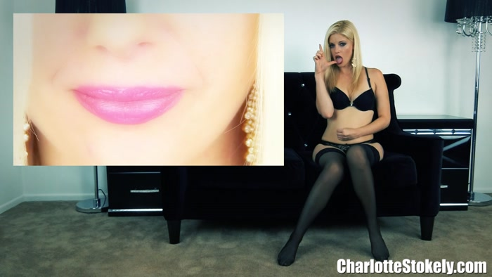 Charlotte Stokely - Erotic Cum Shaming Session