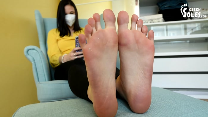 Czech Soles - Foot model got bored during quarantine