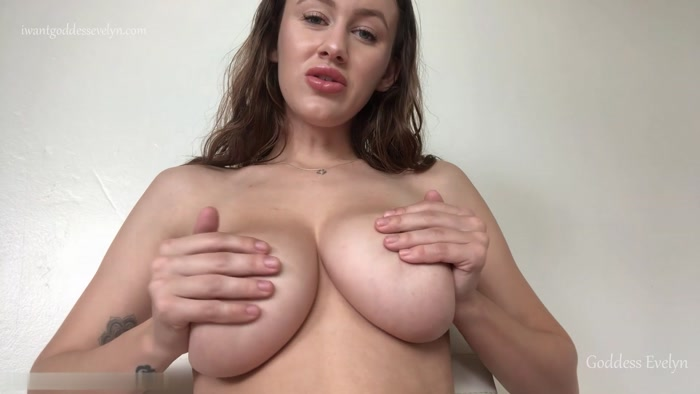 Goddess Evelyn - Coerced Bi Game Deepthroat or FaceFuck