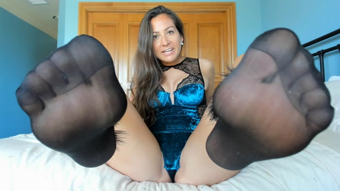 Princess Fierce - Spend and Stroke Sock Addict