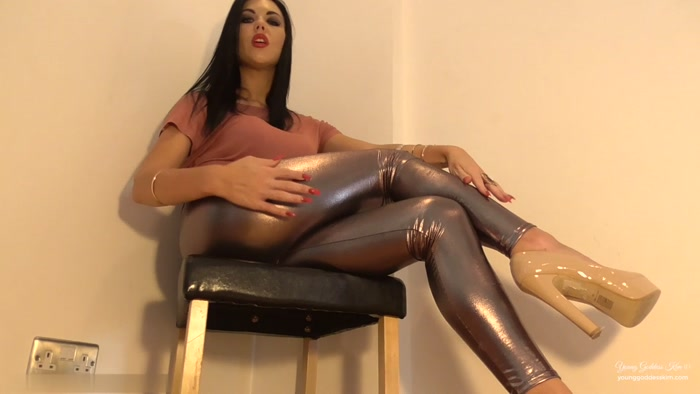 Young Goddess Kim - Shiny Ass Worship slave