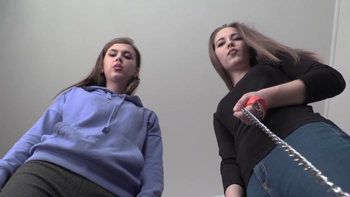 Bertie and Betty Femdom Fetish Humiliation pov spitting