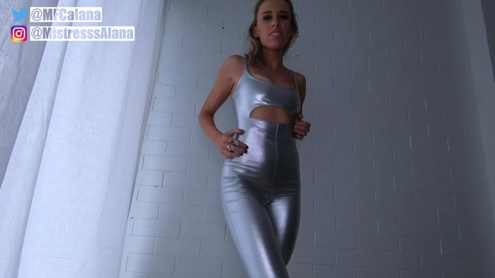 Mistress Alana - Weak For Shiny Goddess Cum Countdown