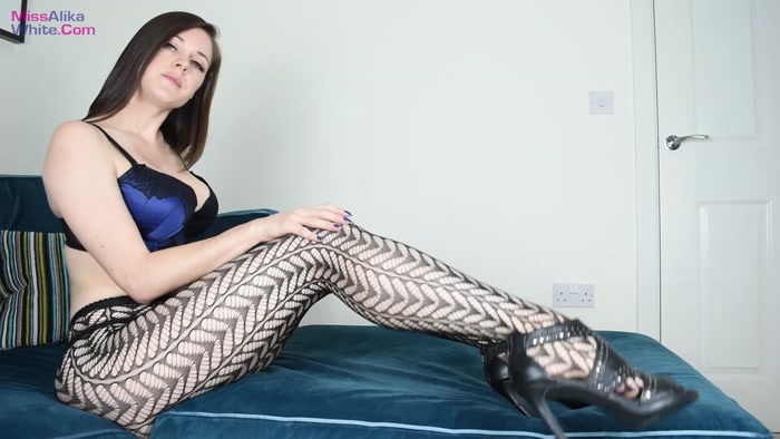 Miss Alika White - Beg for Pantyhose