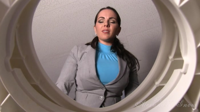 Goddess Alexandra Snow - Office Toilet