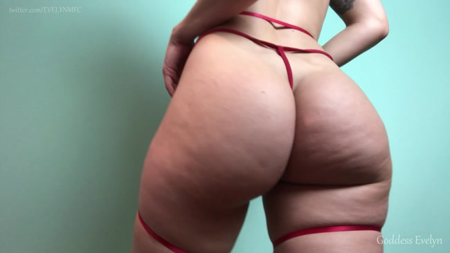 Goddess Evelyn - Ass Worship With P0ppers & CEI