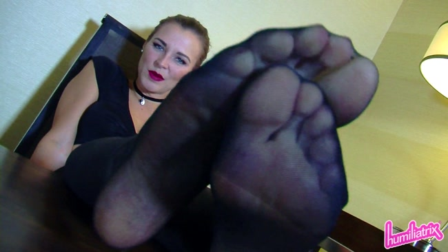 Humiliatrix - Your Dominant Young Boss Remi Demotes You to Office Foot Slave