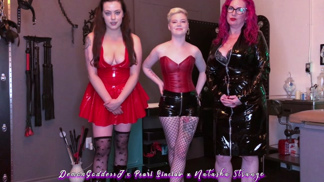 Demon Goddess J - Jerk Junkie Three Domme Humiliation JOI