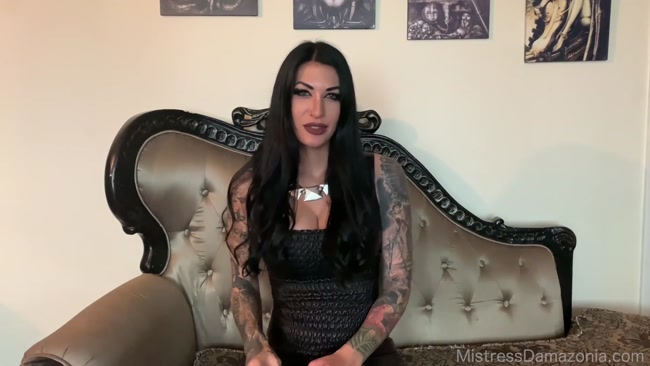 Mistress Damazonia - Chastised for your Goddess