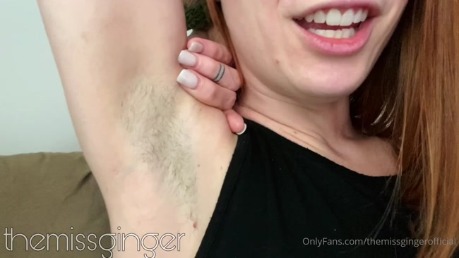 Miss Ginger - My armpits are Godly. Spoil them