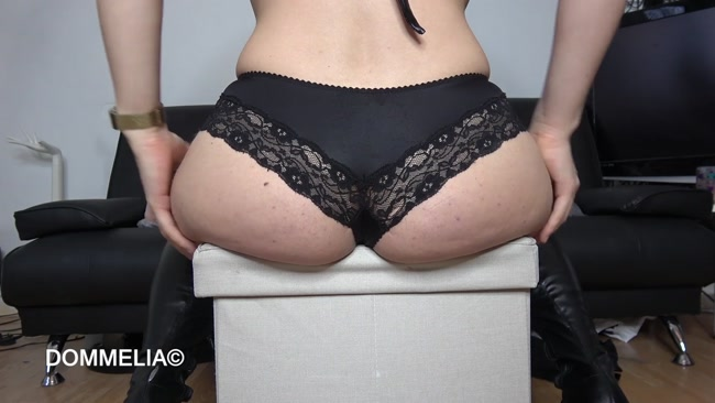 Farting Fetish - Sucking The Life Out Of My Human Chair starring Goddess Dommelia