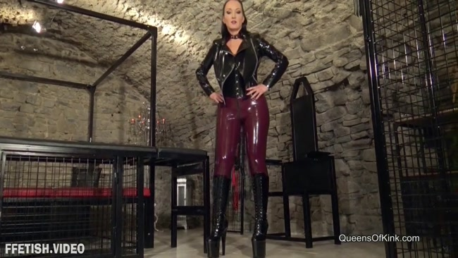 Mistress Fetish Liza - Queens Of Kink - Busted And Broken By My Boots [Ballbusting POV]