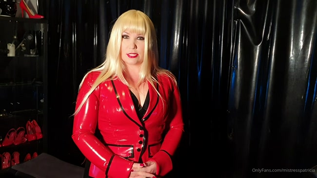 MISTRESS PATRICIA - Ready for My Rubber Playroom